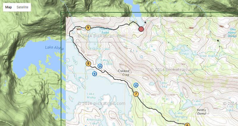 Pickatrail.com KML-KMZ Custom Map