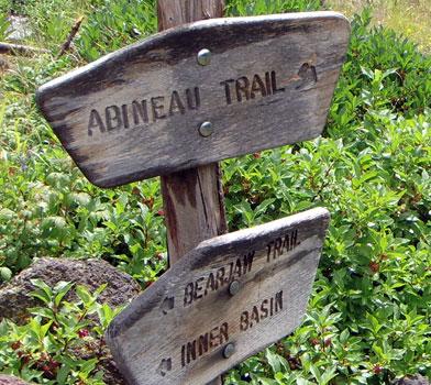 Abineau Trailhead