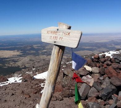 Humphreys Peak Trailhead