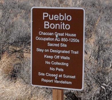 Pueblo Bonito Trail