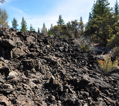 Lava Flow at Big Nasty Trail