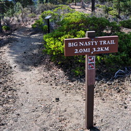 Big Nasty Trail - Lava Beds National Monument - California (CA)