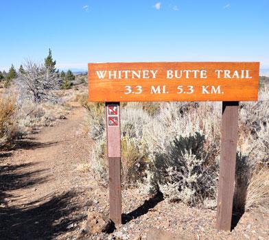 Whitney Butte Trailhead