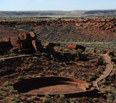 Wupatki Trail Wupatki National Monument Arizona Az