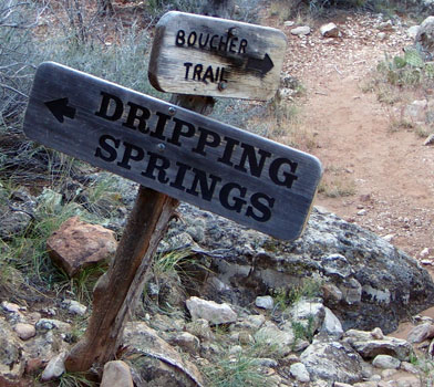 Driping Springs Sign
